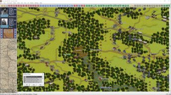 This is another zoomed out 3D shot, illustrating the defensive positions of both sides;