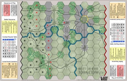 Battle for Moscow map