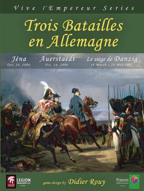 Vive l'Empereur Series -Vol. IX  Trois Batailles en Allemagne