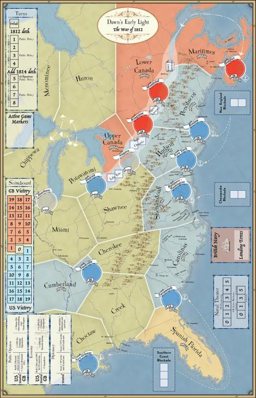 Dawn's Early Light: The War of 1812 - plateau