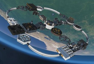 Grande base orbitale