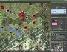 Map - 2-1 Tank with LOS overlay active