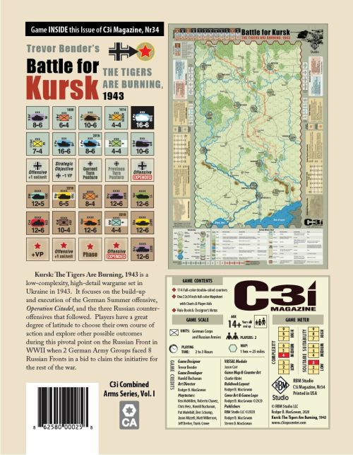 C3i Battle for Kursk - The Tigers are burning - 1943