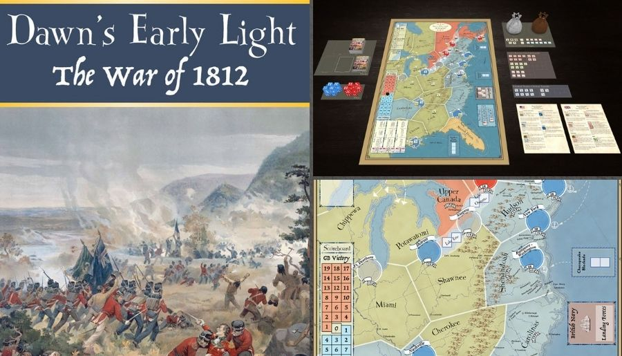 Dawn's Early Light – The War of 1812 - Tabletopia