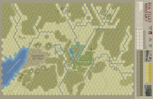 A Splendid Little War - map