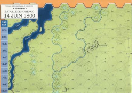 VaeVictis 35 - Marengo 1800 - carte