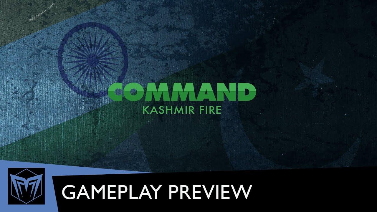 Kashmir Fire : présentation vidéo ⬡ Gazette du wargamer