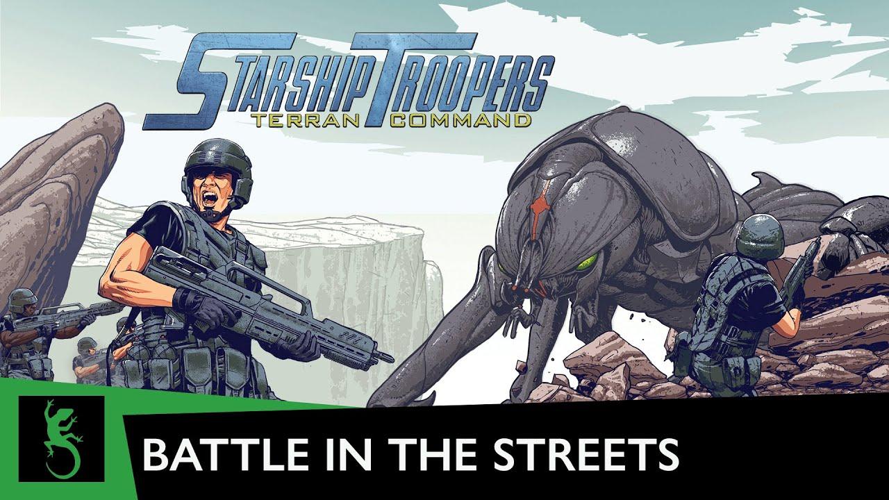 Starship Troopers – Terran Command : nouveau trailer