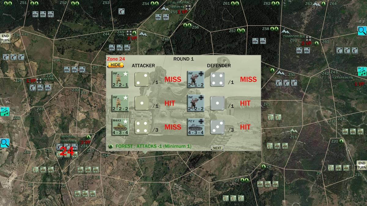 World War 2 Operation Husky : screenshots