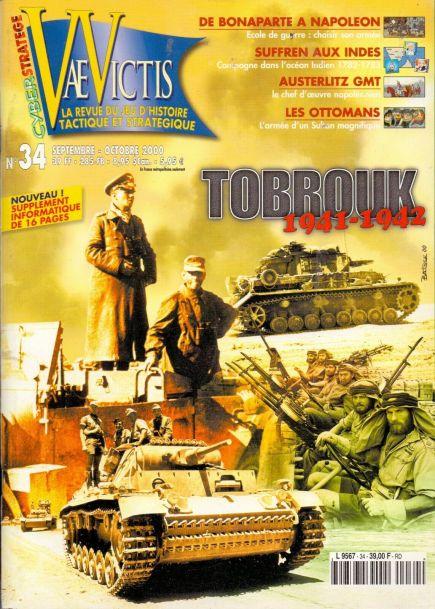 VaeVictis 34 - Tobrouk 1941-1942
