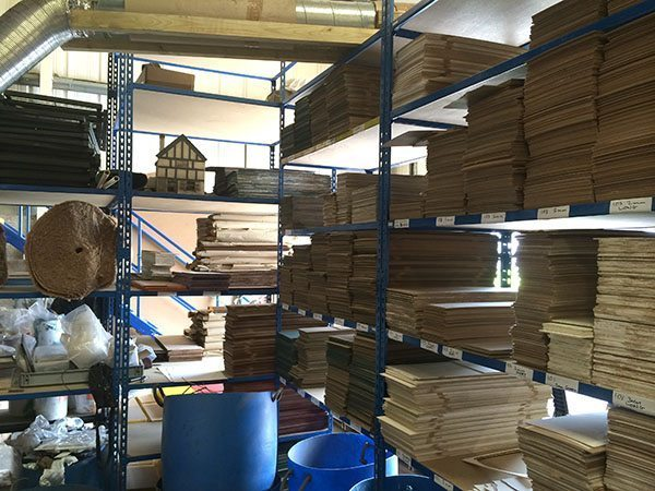 3 Different lengths of MDF