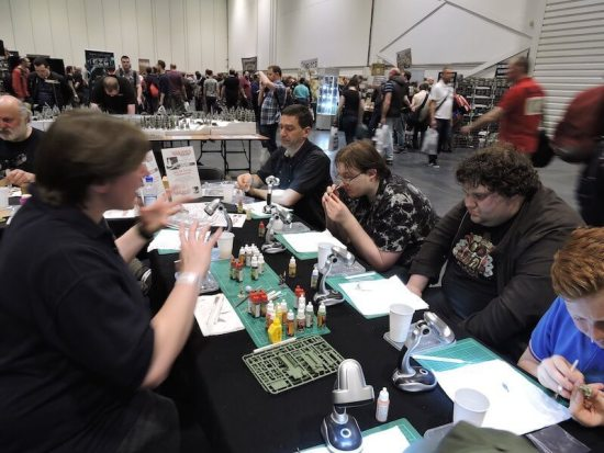 Our Hobby University UK set up from last years Salute