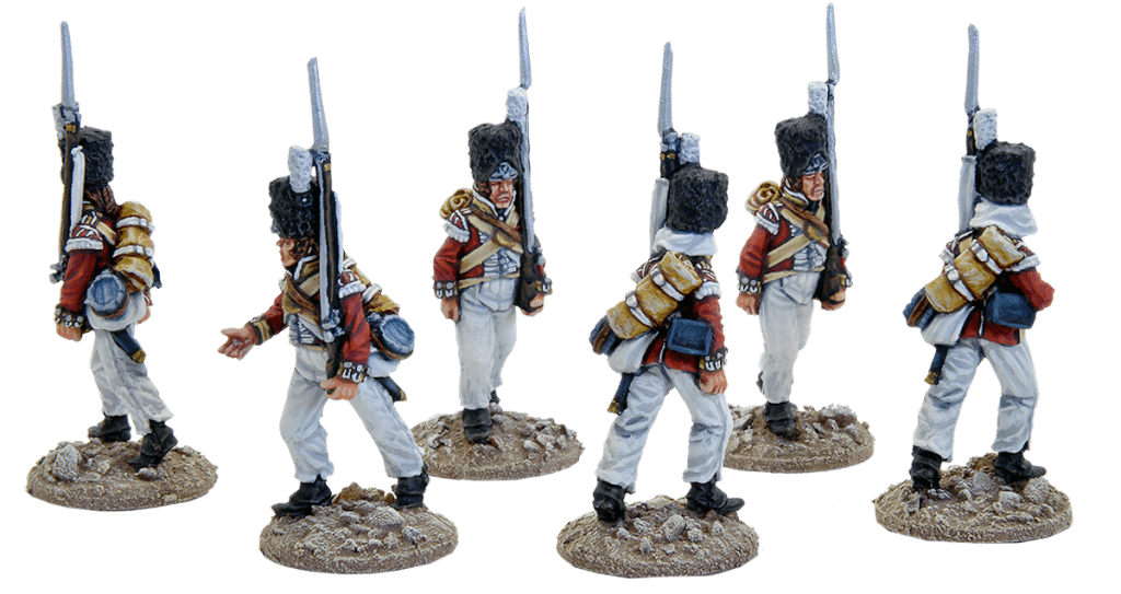 British Grenadiers of the 61st Foot