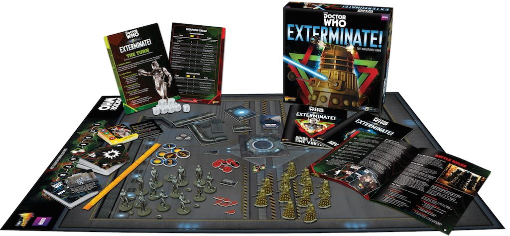 wargames illustrated doctor who exterminate the miniatures game
