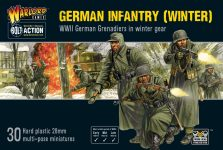 Bolt Action German Infantry (Winter) Cover