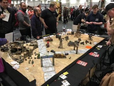Crooked Dice's 7TV Apocalypse game at Salute