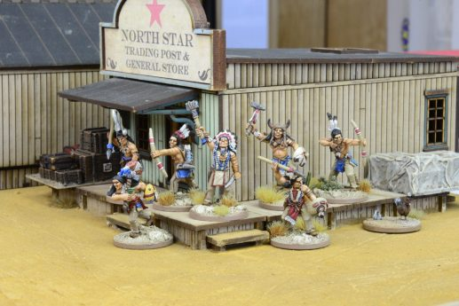 Plains Indians Gang for The Curse of Dead Man's Hand
