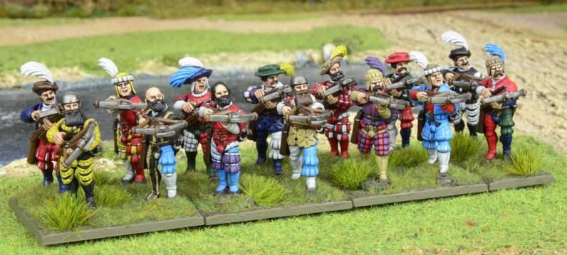 Lansknecht Crossbowmen