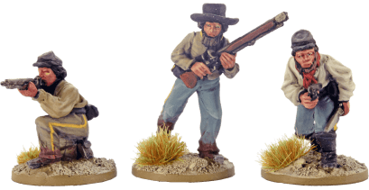 28mm Dismounted Confederate Cavalry 4