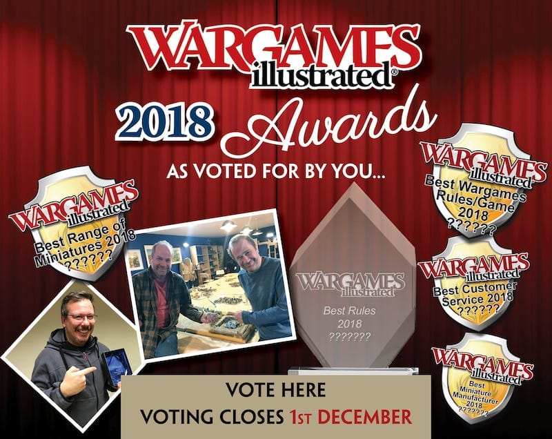 Wargames Illustrated | THE WARGAMES ILLUSTRATED AWARDS 2018