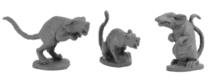 Daydream Miniatures - 28mm Animals1
