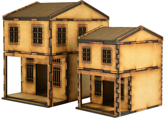 MDF Asian Shop Houses 8