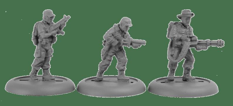 Studio Miniatures - 28mm US Spec Ops Kill Team 3