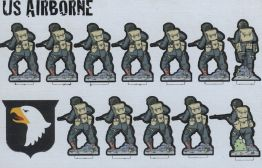 Flatpack Forces - US Airborne Back