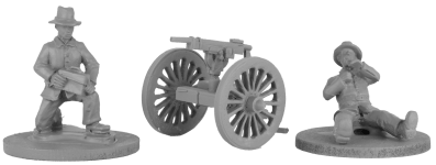 28mm Boxer Rebellion Allied Artillery 3