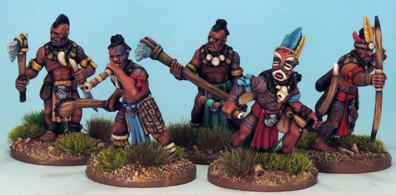 28mm Tribal Warriors 6