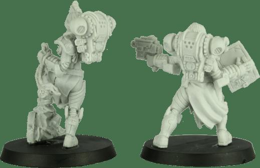 Shieldwolf Miniatures - Sisters of Talliareum 3