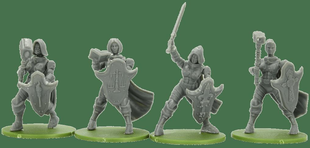 Wargames Illustrated | 32mm Sisters of Talliareum / Faith Fantasy