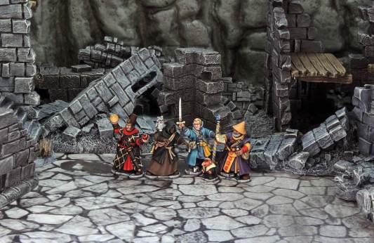 Frostgrave Wizards boxed set 24