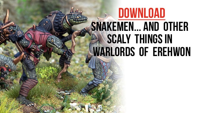 Wargames Illustrated | Snakemen… and other scaly things in
