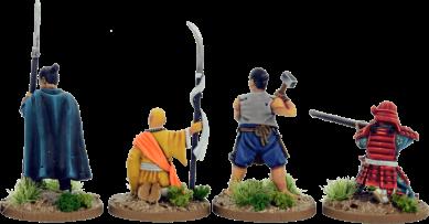 28mm Samurai Era Miniatures 4