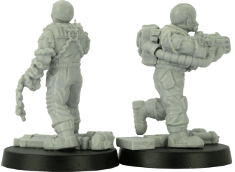 28mm Boiler Suited Sci-Fi 1