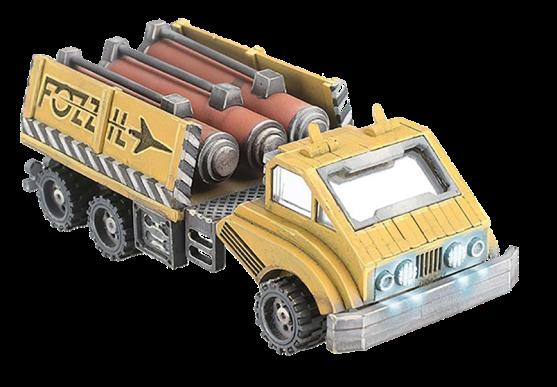 Rylos Spaceport Fozzil Fule Truck