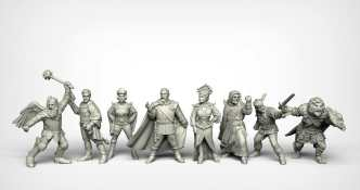 Crooked Dice Design Studio –Coming Soon: 28mm Retro Sci-fi 11