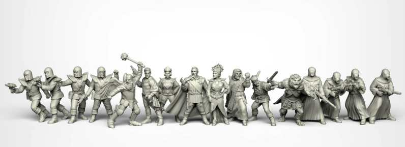 Crooked Dice Design Studio –Coming Soon: 28mm Retro Sci-fi 12