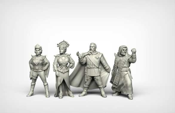 Crooked Dice Design Studio –Coming Soon: 28mm Retro Sci-fi 7