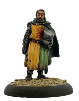 William Marshal on foot