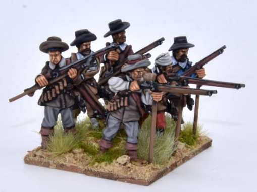 TE7 - Musketeers firing & loading I