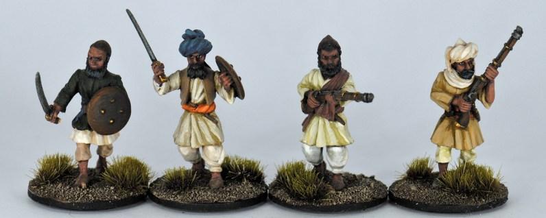 NFA009 - NFA012 - Afghan Tribesmen Loading II