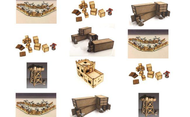 Industrial Terrain Accessories Deal 2 Wargames Tournaments