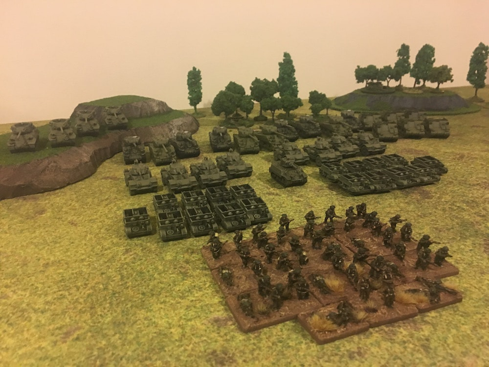 3D Printing a 1500 Point Flames of War Army in 10 Days