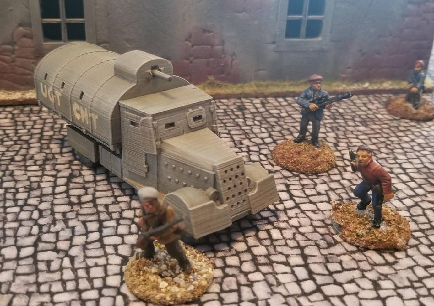 You Dirty Beast!!   The Spanish Civil War's Tiznao Armoured Trucks