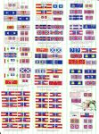 ACW Flag Sets #19-27 (All sizes)