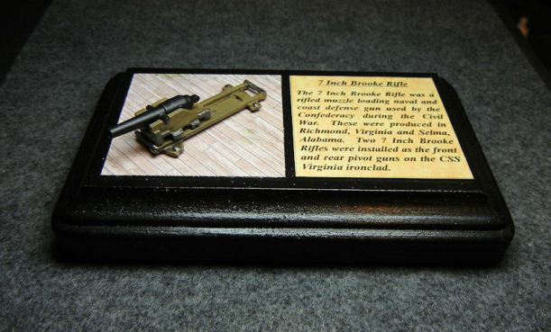 Naval Artillery: ACW 145 Brooke Rifle 7″
