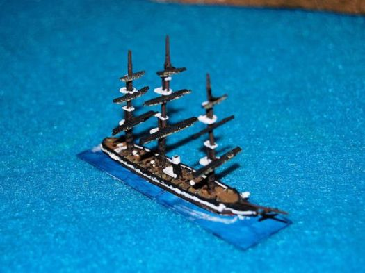 HSS52 USS Pensacola painted as USS Brooklyn