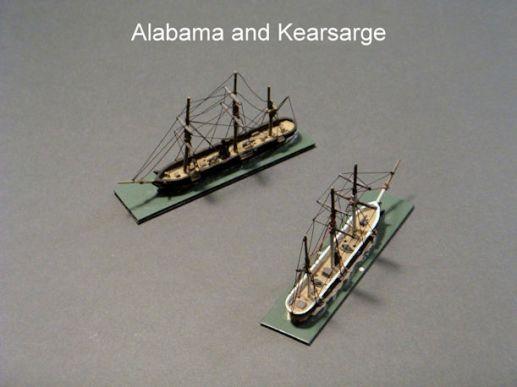 HSS22 USS Kearsarge; CSS Alabama